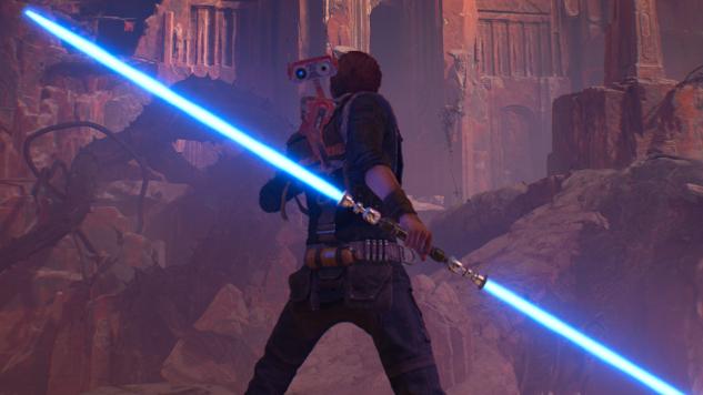 Star Wars Jedi: Fallen Order: hoe krijg je een dubbel lichtzwaard