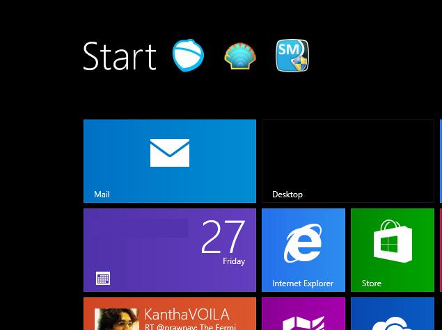 Hoe de Start-knop te krijgen in Windows 8