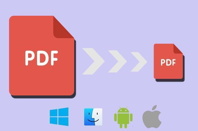 PDF comprimeren: hoe u PDF-bestandsgrootte gratis kunt verkleinen op computer, telefoonn