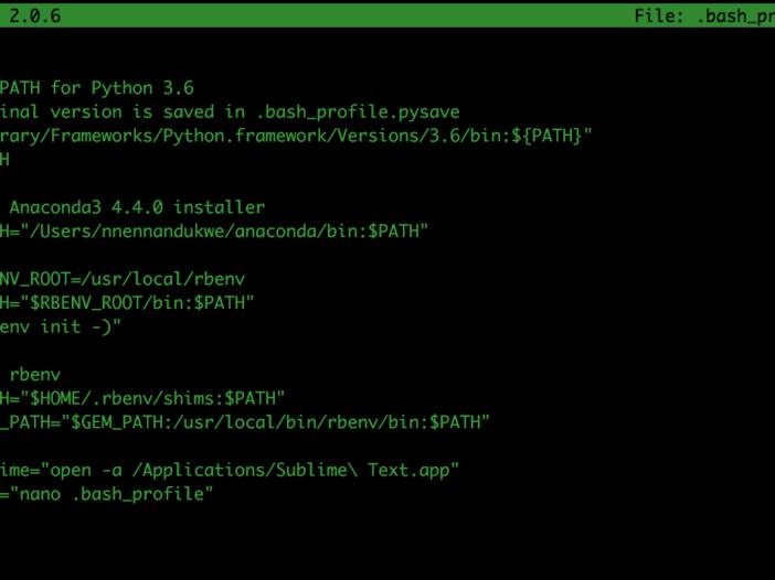 Terminal 101: aliassen maken voor opdrachten