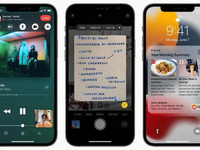 iOS 15: nieuwe functies, compatibele iPhones, openbare bèta en updaten